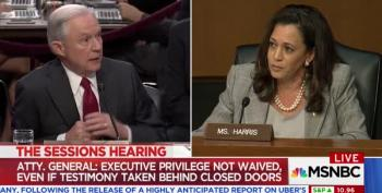 Sessions Whines: Sen. Harris 'Rushing Him,' Making Him 'Too Nervous!'