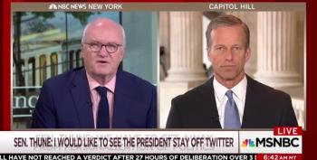 Mike Barnicle Catches Sen. Thune Off Guard