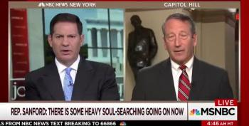 Rep. Sanford: Trump 'Partially To Blame For Demons That Have Been Unleashed'