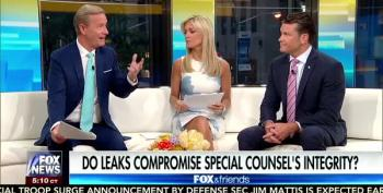 Fox And Friends Defines 'Leak' As 'Anything Trump Doesn't Like'