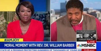 Rev. Barber Takes Us To Church After This Week's Events