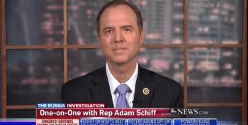 Rep. Adam Schiff: Trump 'Trying To Discredit' Bob Mueller