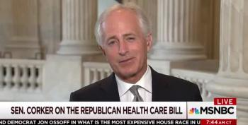 Sen Bob Corker Gives 'Fart In A Car' Treatment To Trumpcare