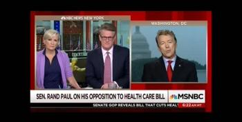 Rand Paul Is So Full Of Crap, His Eyes Are Brown