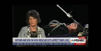 Must Watch:  A Real Life Potential Victim Of TrumpCare. Shame On Republicans!