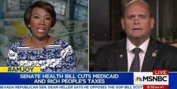 Joy Reid Takes Apart GOP Rep Over AHCA Medicaid Cuts Benefiting One Percent