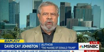 David Cay Johnston Quotes Donald Trump To Slap Down Trumpcare