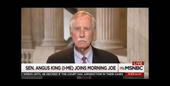 Sen. Angus King Warns Syria 'Is Complicated'