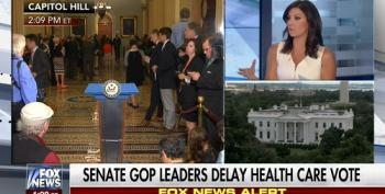 Fox Anchor Tries To Blame Democrats For GOP Revolt Against Trumpcare