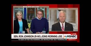 Watch Ron Johnson Babble Incoherent Rationale For Supporting Senate Bill