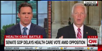 CNN Host To Sen. Johnson: 'This Whole 'Fake News' Thing Needs To End And End Now'