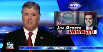 Sean Hannity Melts Down On CNN's Jim Acosta