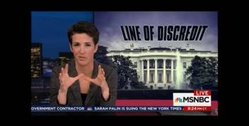 Maddow Says Senate Republicans Are Trying To Stop Investigation