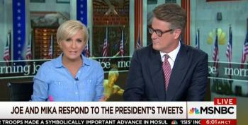 Brzezinski And Scarborough Respond To Trump's Twitter Attack