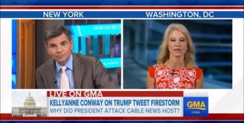 Stephanopoulos Questions Kellyanne Conway's Truthfulness