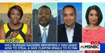 Joy Reid: 'Conspiratorial Mindset' Of Trump And Flynn Key To Hacking Story