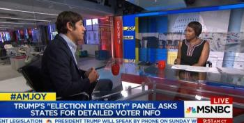 Ari Berman On Trump's Voter Fraud Panel: 'A Massive, Nationwide Voter Suppression Effort'