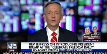 Pastor Robert Jeffress Is A-OK With Trump's Body-Slam Tweet