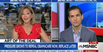 MSNBC Host Wonders If Showing Up To Healthcare Town Hall Is 'Real' Political Action?