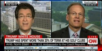 Jack Kingston Blows Off Trump's Violation Of The Emoluments Clause