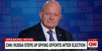 James Clapper Confirms Trump Is Full Of It - Russia Alone Hacked Election