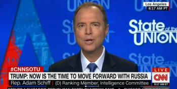 Rep. Schiff On Trump's Cyber-Security Tweet: 'We Might As Well Mail Our Ballot Boxes To Moscow'