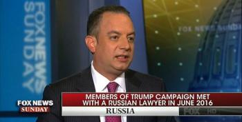 Reince Priebus Blames DNC For Trump's Team Meeting With Russian Lawyer