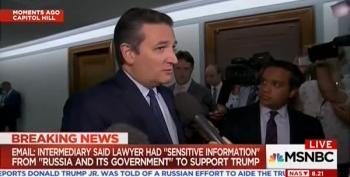 Ted Cruz Pushes Denial On Trump Russia