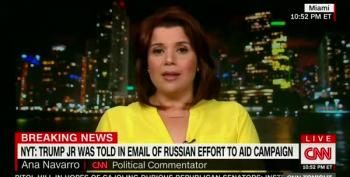 Ana Navarro On Donald Trump Jr: 'My God, This Kid Was Dropped On His Head As A Child'