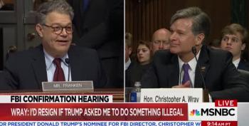 Sen. Al Franken Deconstructs Right Wing Narrative On Ukraine 'Collusion' With Clintons