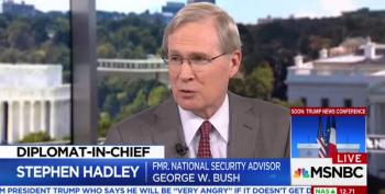 Former Bush Official: 'We Elected Trump Family,' Newbies Make Mistakes