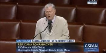 Dana Rohrabacher Defends Russian Hacking On The House Floor
