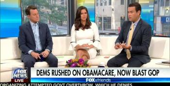 Fox & Friends Lie About Passage Of Affordable Care Act