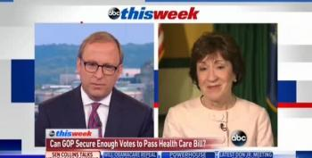 Sen. Collins: Cutting Medicaid 'Is Not The Way We Should Proceed'