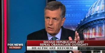 Brit Hume Accidentally Proves Why We Need Insurance Mandates