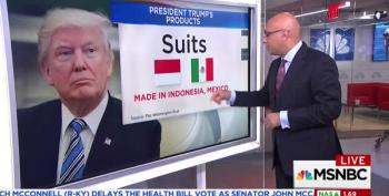 Ali Velshi Deconstructs Trump's 'Made In America' Week