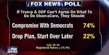 Fox News Admits 'Compromise With Democrats' Wins Poll