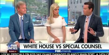 Fox News' Steve Doocy Flips Over Special Counsel Access To Trump's Tax Returns