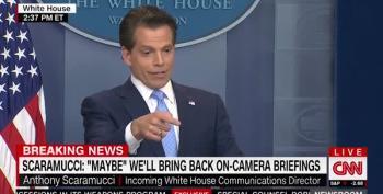 Scaramucci Apologizes For Calling Trump A 'Hack Politician'
