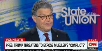 Al Franken Dismantles Trump's Attacks On Mueller's Legal Team