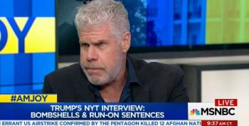 Ron Perlman Deciphers Trump's Speech Patterns
