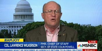Wilkerson Slams Trump Allies For Undermining Iranian Nuclear Agreement