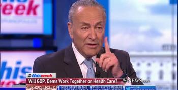Chuck Schumer Says Trumpcare Won't Pass; Public Options 'On The Table'