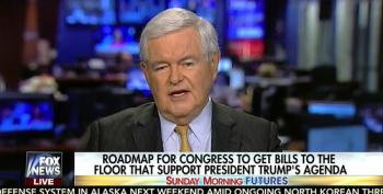 Aw, Newt Gingrich Wants Tax Cuts, And Quick!
