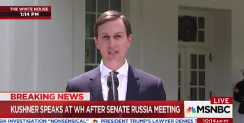 Jared Kushner Reads Statement: 'I Did Not Collude With Russia'