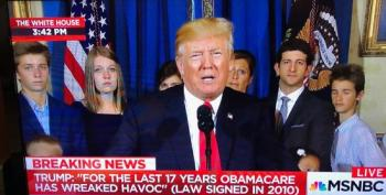 Trump: 'For The Past 17 Years, ObamaCare Has..'
