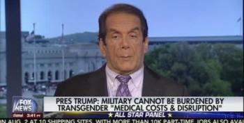 Charles Krauthammer Baffled By Trump's Transgender Military Tweets