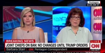 CNN's Barbara Starr Left Almost Speechless Over Trans Ban