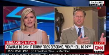 CNN Host To GOP Claim Media Forced Trump's Sessions Attacks: 'Are You Kidding Me?'