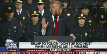 Trump Endorses Police Brutality